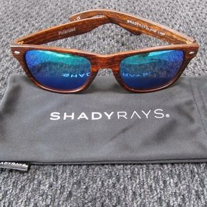 Shady Rays Classic Timber Polarized Sunglasses